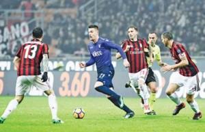ميلان ويوفنتوس في مواجهة لاتسيو واتالانتا .. في اياب نصف نهائي كأس ايطاليا