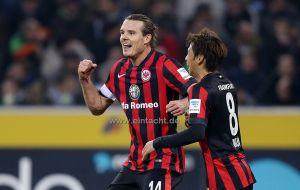 El Eintracht se impone 1-3 en el Borussia Park