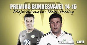 Mejor entrenador de la Bundesliga 2014/2015: Dieter Hecking
