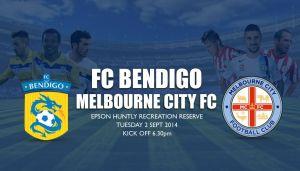 Melbourne City - FC Bendigo: posible debut de David Villa con los 'Citizens'