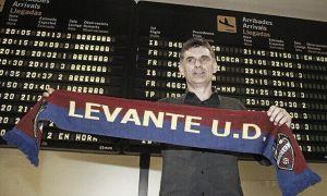 """Mendilibar: """"El Levante es un club serio, seguro y que sabe lo que quiere"""""""