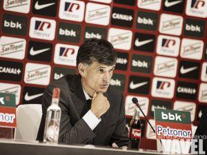 """Mendilibar: """"A partir del minuto cincuenta se ha terminado el partido para nosotros"""""""