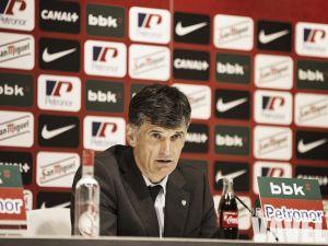 """Mendilibar: """"Tenemos que hacer un partido perfecto"""""""