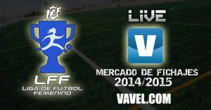 Mercado de fichajes de fútbol de la Primera División Femenina 2014/2015