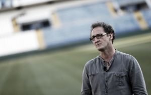 Luis Merino y su debut en un Sporting - Málaga