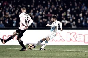 Serie A - Un ottimo Palermo disinnesca il Napoli: al San Paolo Mertens risponde a Nestorovski