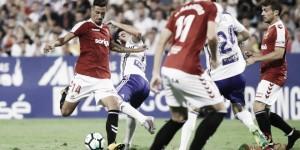 Maikel Mesa, el mejor ante el Zaragoza