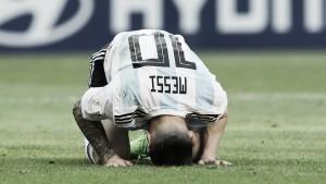 Lluvia de elogios a Messi tras la eliminación albiceleste