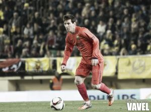 Messi y el Valencia, goles por doquier
