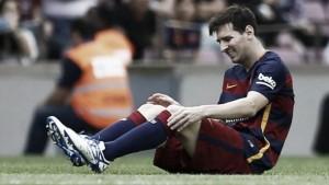 Messi pasa por el quirófano