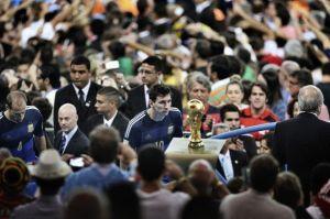 Una instantánea de Messi gana el World Press Photo