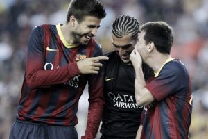 Messi y Piqué, candidatos a entrar en el once ideal de la UEFA