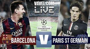 Resultado Barcelona vs PSG en la Champions League 2015 (2-0)