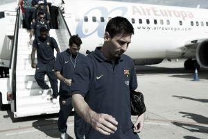 El Barcelona llega a Madrid con la ausencia de Busquets