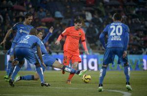 ¿Cómo llega el FC Barcelona a Getafe?