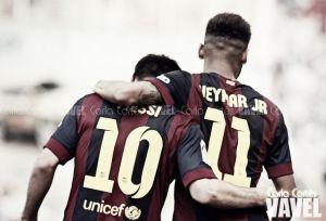 Neymar, Rakitic y Messi, nominados al once ideal de la UEFA