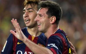 Messi, Eto'o y Munir nominados al mejor gol de la UEFA