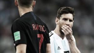 Rakitić vence a Messi en el duelo de selecciones