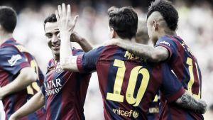 Messi aprieta pero no ahoga