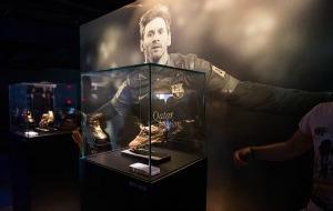 Messi tiene su espacio en el Museo del Camp Nou