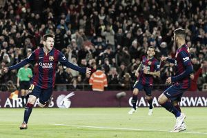 Barcelona 5-1 Espanyol: Messi grabs a hat-trick as Barca keep pace with Real