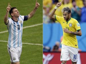 Azulgranas por el mundo: Messi y Neymar, cara a cara