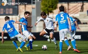 Lleida Esportiu - Valencia CF Mestalla: miras clasificatorias bien distintas