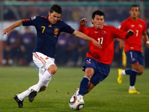 España está invicta en 10 partidos contra Chile
