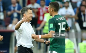 Mexico coach Juan Carlos Osorio thrilled with hard fought victory over current holders Germany