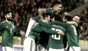 Resultado y gol del México (1-0) Escocia