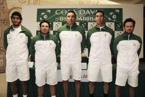 Copa Davis: México presentó sus blasones para enfrentar a Bolivia