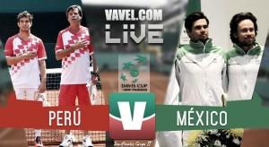 Resultado Perú vs México en Día 1 (2-0)