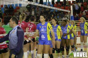 Fotos e imágenes del Naturhouse Ciudad de Logroño - IBSA CV ACE Grancanaria.com (3-0), playoffs de la SFV