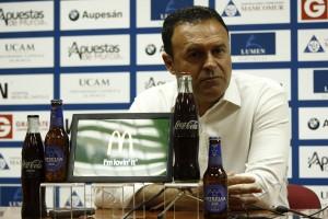 """José María Salmerón: """"Estoy contento con el trabajo del equipo"""""""