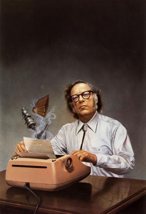 Breve homenaje a Isaac Asimov, uno de los padres de la ciencia ficción