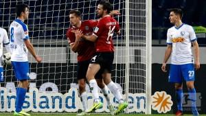 Hannover 96 2-1 VfL Bochum: Harnik brace helps Hannover stay second