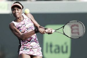 WTA Miami, Venus Williams batte Caroline Wozniacki