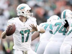 Dolphins acribilló a Chargers 37-0 y quiere despegar