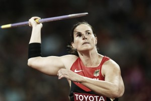 Javelin thrower Linda Stahl retires