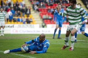 Saints shock complacent Celts.  How we lived it
