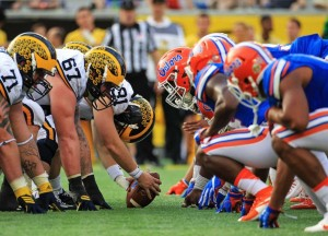 Score Michigan Wolverines vs. Florida Gators of the 2017 AdvoCare Classic (33-17)