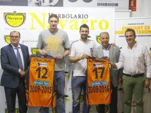 Lishchuk y Martínez, la esencia del Valencia Basket