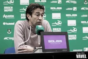 """Miguel Falcón: """"El equipo ha realizado una semana de entrenamientos espectacular"""""""