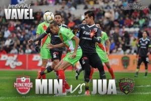 Previa Mineros - FC Juárez: atractivo duelo de media semana