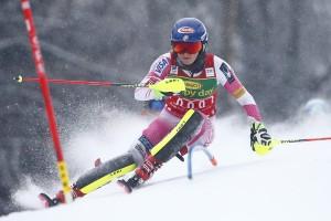 Sci alpino, Maribor - Slalom Speciale: Shiffrin in testa dopo la prima manche, out Zuzulova