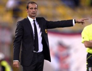 "Allegri: ""La classifica la guarderò a Natale"""