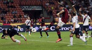 Il Milan regola il Cagliari nel segno di SuperMario