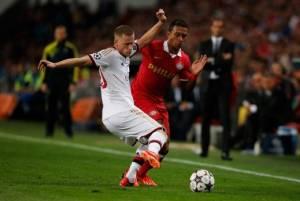Rating the Milan Players vs. PSV