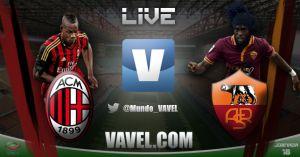 Milan vs Roma en vivo online