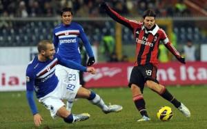 Risultato finale Milan - Sampdoria (4-1): poker rossonero, notte fonda per Montella